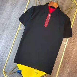 プラダ(PRADA)のPRADA/プラダ  21ss定番の半袖ポロシャツ(ポロシャツ)