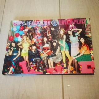 ショウジョジダイ(少女時代)の少女時代 DVD GIRLS GENERATION LOVE&PEACE (K-POP/アジア)