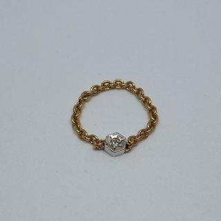 ココシュニック(COCOSHNIK)のココシュニック ダイヤ チェーンリング(リング(指輪))