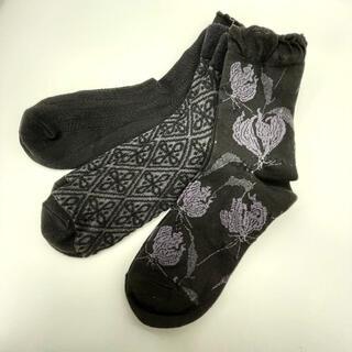 新品未使用♡レディース ソックス 靴下 3セット