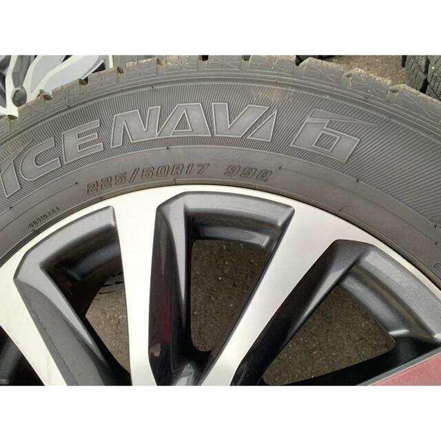 Goodyear(グッドイヤー)のアルファード30 純正ホイール スタッドレス 自動車/バイクの自動車(タイヤ・ホイールセット)の商品写真
