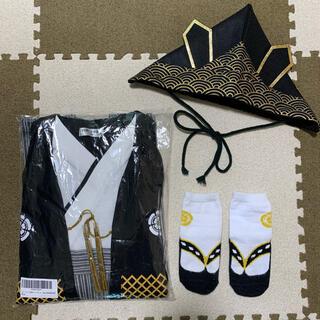 袴ロンパース  90cm(和服/着物)