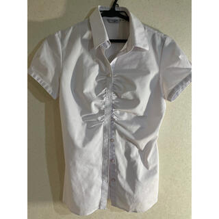 アオキ(AOKI)のAOKI シャツ パープル(シャツ/ブラウス(半袖/袖なし))