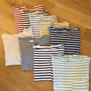 オーシバル(ORCIVAL)のオーシバル ORCIVAL ボートネックカットソー サイズ4(Tシャツ/カットソー(七分/長袖))
