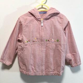 ファミリア(familiar)のfamiliar 100cm ファミちゃん刺繍フードパーカー(ジャケット/上着)