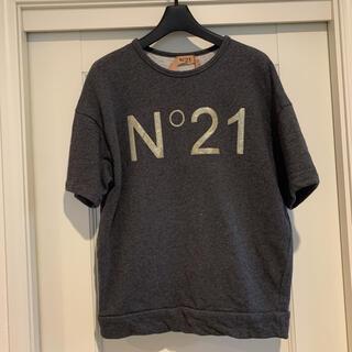 N°21 - N°21 ヌメロヴェントゥーノ 半袖スウェット グレー 36