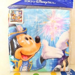 ディズニー(Disney)のディズニーシー 15周年 ウィッシュ ウォッシュタオル ミニタオル ハンドタオル(キャラクターグッズ)