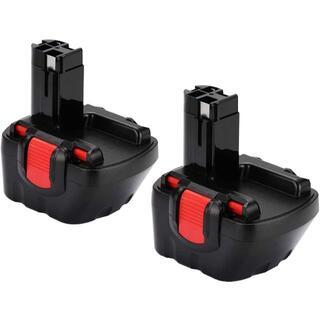 ボッシュ(BOSCH)のBOSCH ボッシュ 12v 3000mAh 互換バッテリー 2個(工具)
