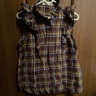 ダズリン(dazzlin)のdazzlin チェックタンクトップシャツ(未使用品)(シャツ/ブラウス(半袖/袖なし))