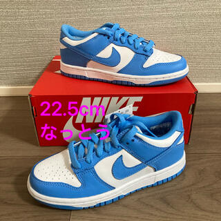 "NIKE - 【極小!!】NIKE DUNK LOW GS ""UNIVERSITY BLUE"""