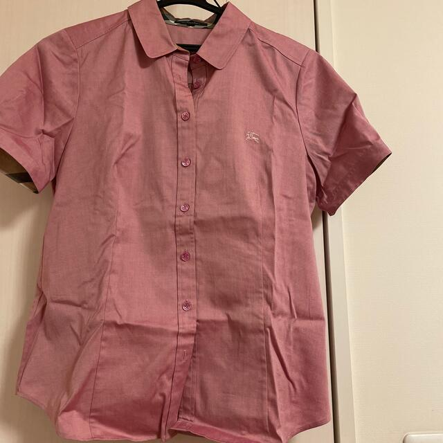 BURBERRY(バーバリー)のバーバリーの半袖シャツ レディースのトップス(シャツ/ブラウス(半袖/袖なし))の商品写真