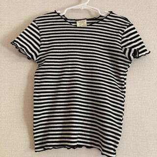 ZARA KIDS - ZARA girls ボーダー Tシャツ トップス size6/116cm