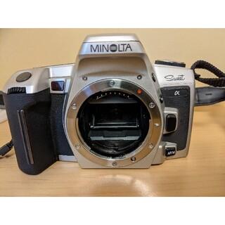 コニカミノルタ(KONICA MINOLTA)のミノルタα Sweet フィルム一眼レフカメラセット(フィルムカメラ)