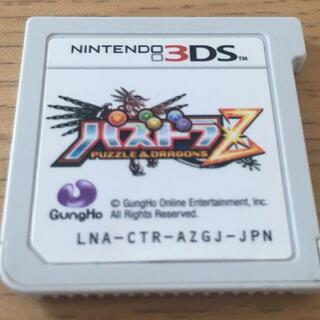 ニンテンドー3DS(ニンテンドー3DS)のパズドラZ 3DS(携帯用ゲームソフト)