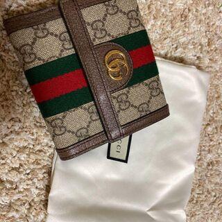 Gucci - GUCCI グッチ 二つ折り財布 オフディア