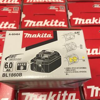 マキタ(Makita)のマキタ リチウムイオンBL1860B  18V 6.0Ah 18個セット(工具/メンテナンス)