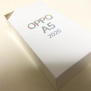アンドロイド(ANDROID)のOppo A5 2020 グリーン 4GB/64GB sim フリー スマホ(スマートフォン本体)