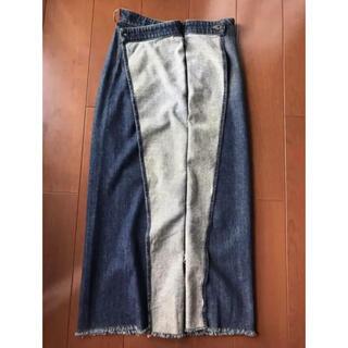 エムエムシックス(MM6)のMM6 デニムスカート 【TOMO MAMA様専用】(ロングスカート)