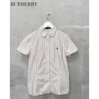 BURBERRY - 【BURBERRY】ストライプシャツ ブラウス バーバリー