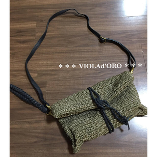 IENA - VIOLAd'ORO ヴィオラドーロ 2way バッグ クラッチ ショルダー