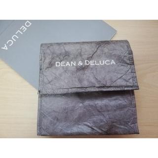 DEAN & DELUCA - DEAN&DELUCA/ランチバッグチャコ―ルグレー【USED】