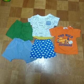 アンパサンド(ampersand)の夏服 80サイズ Tシャツ&短パン まとめ売り(Tシャツ)