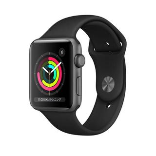 Apple Watch - Apple Watch Series3 42mm GPSモデル スペースグレイ