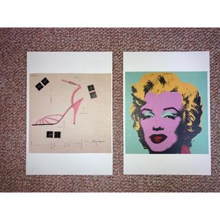 アンディウォーホル(Andy Warhol)のアンディウォーホール アンディウォーホル ポストカード(印刷物)