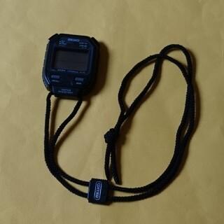 セイコー(SEIKO)のSEIKOクォーツデジタルストップウォッチS101-5000(送料無料)(トレーニング用品)