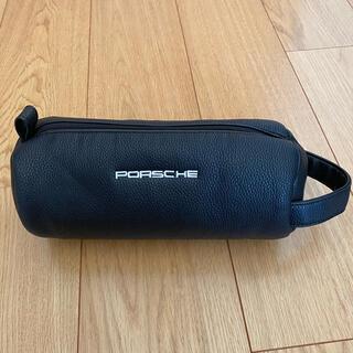 ポルシェ(Porsche)のPORSCHE ポルシェ ゴルフ ポーチ 黒(バッグ)