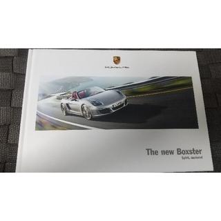 ポルシェ(Porsche)のPORSCHE The New Boxsterポルシェ カタログ(カタログ/マニュアル)