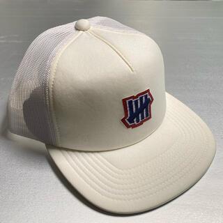アンディフィーテッド(UNDEFEATED)の新品 UNDEFEATED CAP キャップ ホワイト(キャップ)