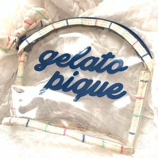 ジェラートピケ(gelato pique)のジェラートピケ ビニールポーチ(ポーチ)