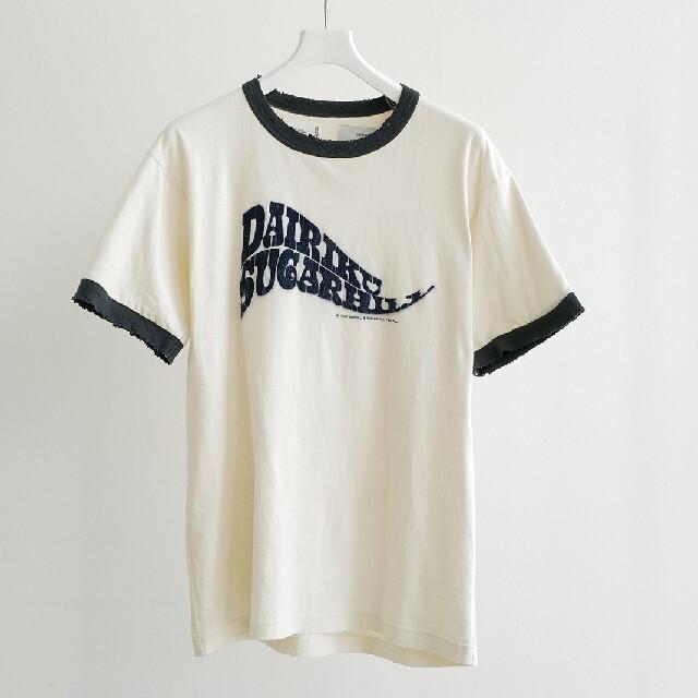 JOHN LAWRENCE SULLIVAN(ジョンローレンスサリバン)のdairiku×sugarhill リンガーT Mサイズ 未使用新品 メンズのトップス(Tシャツ/カットソー(半袖/袖なし))の商品写真