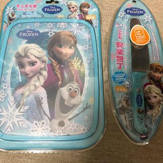 ディズニー(Disney)のアナ雪 子供安全包丁&まな板(その他)