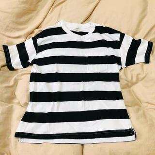 ジーユー(GU)のGU ボーダーTシャツ(Tシャツ/カットソー(七分/長袖))