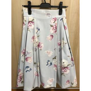 ウィルセレクション(WILLSELECTION)のウィルセレクション 花柄スカート(ひざ丈スカート)