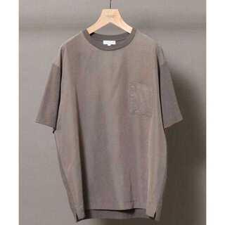 ビューティアンドユースユナイテッドアローズ(BEAUTY&YOUTH UNITED ARROWS)のBY フロントファブリック ワイドフォルム Tシャツ(Tシャツ/カットソー(半袖/袖なし))