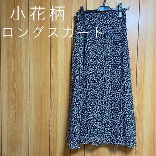 アベイル(Avail)の【未使用】アベイル 小花柄ロングスカート Lサイズ(ロングスカート)