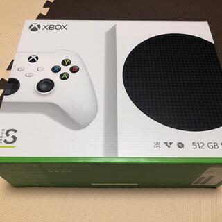 エックスボックス(Xbox)の【新品・未開封】Xbox series s (家庭用ゲーム機本体)