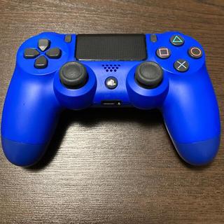 プレイステーション4(PlayStation4)の【ジャンク品】DUALSHOCK4 PS4 純正コントローラー 青(その他)