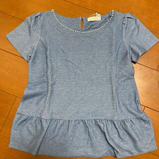 エニィスィス(anySiS)の新品未使用 anySiS ペプラムTシャツ カットソー(Tシャツ(半袖/袖なし))