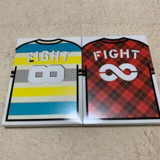関ジャニ∞ FIGHT 初回限定盤 AとBのセット