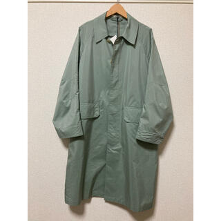 COMOLI - AURALEE 19SS LIGHT FINX POLYESTER COAT