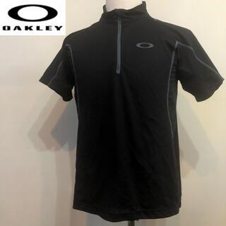 オークリー(Oakley)のオークリー ゴルフ スポーツシャツ ウェアブラック  Lサイズ(ウエア)