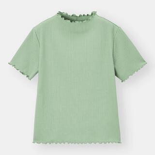 GU - 今期 GU ジーユー リブメローコンパクトT Tシャツ UNIQLO