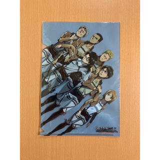 進撃の巨人 B5クリアファイル 別冊マガジン2013年10月号付録(クリアファイル)