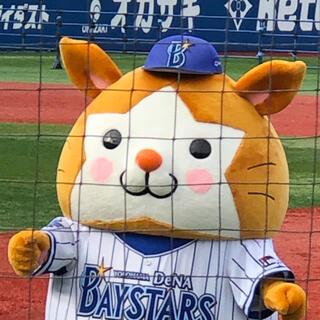 ヨコハマディーエヌエーベイスターズ(横浜DeNAベイスターズ)のラッキーさま(野球)