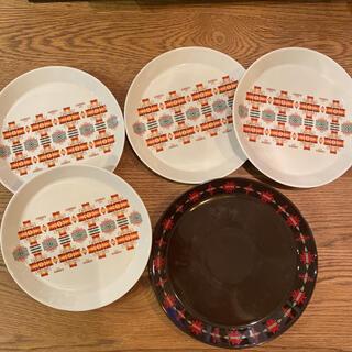 ペンドルトン チーフジョセフ 白4枚 茶1枚セット