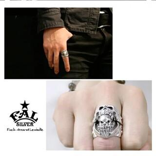 エフエーエル(F.A.L)の36.4g 15号 FAL ナイトメア3rdモデル ピエロ 希少 シルバーリング(リング(指輪))
